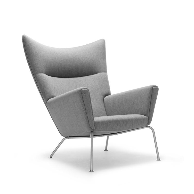 wing chair by hans j wegner, ch445 - carl hansen u0026 søn AQIZNBP