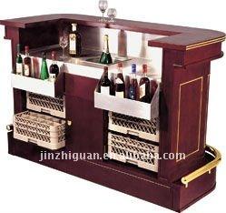 wood hotel /home bar counter(y-2) QAHEXQR