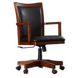 wood office chairs WQBWNYF