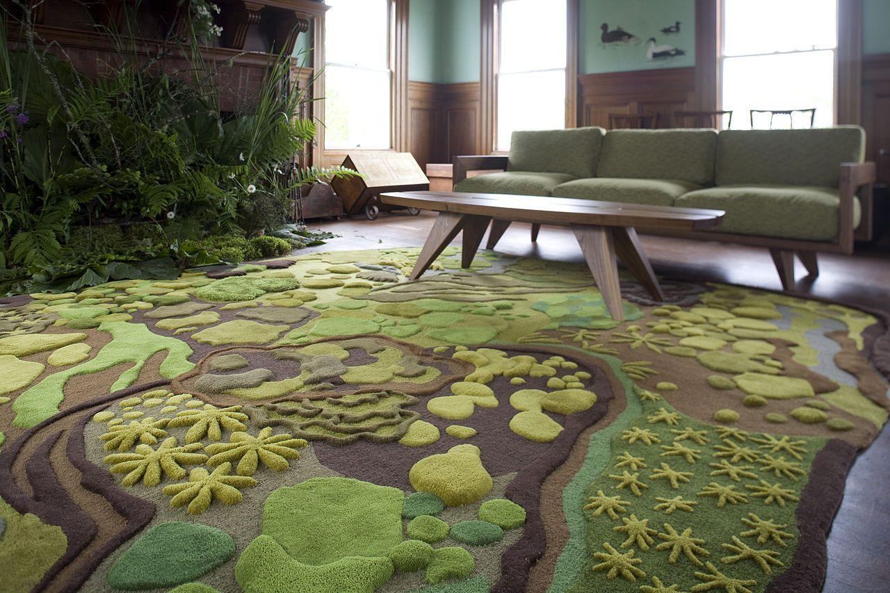 21 cool rugs that put the spotlight on the floor KSROMIV
