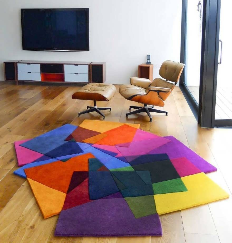 6 spectacular unique rugs for living room TLHPBAF