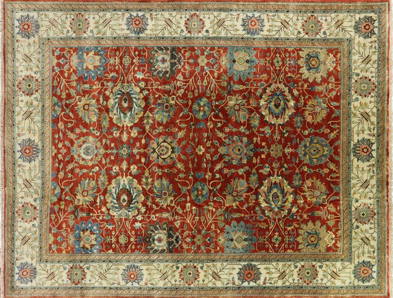 9 x 12 oriental fine serapi handmade rug - mcs671 JHTNVWQ