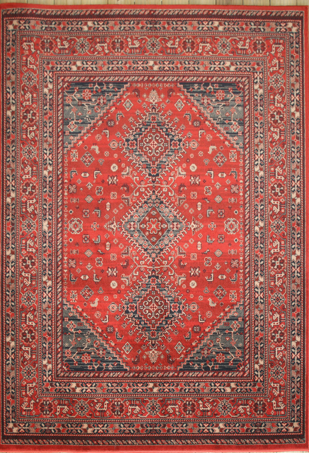 Afghan rugs afghan 7903/200 red rug QJLCKPN