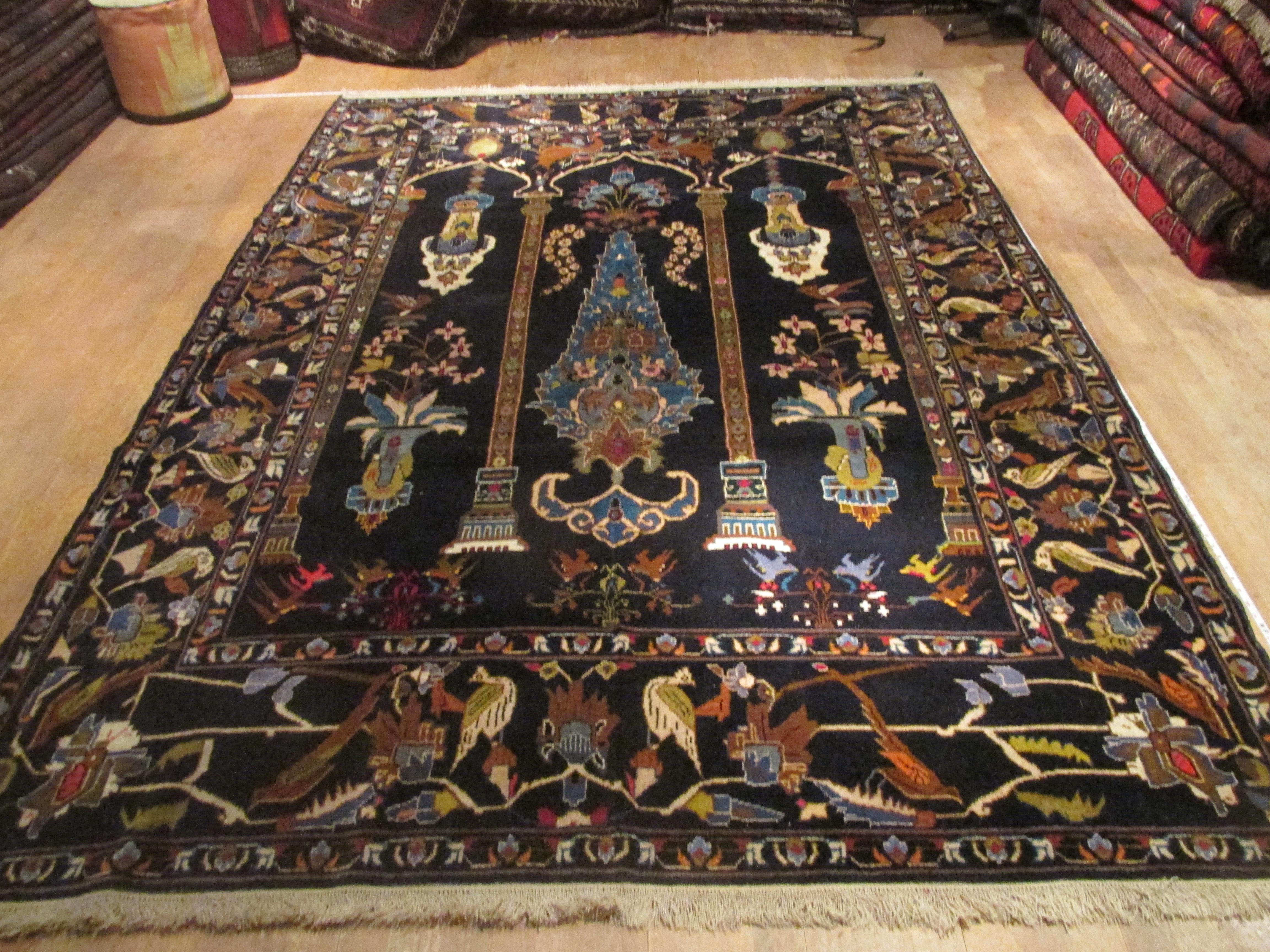 Afghan rugs picture pattern afghan handmade rug ONPOZWO