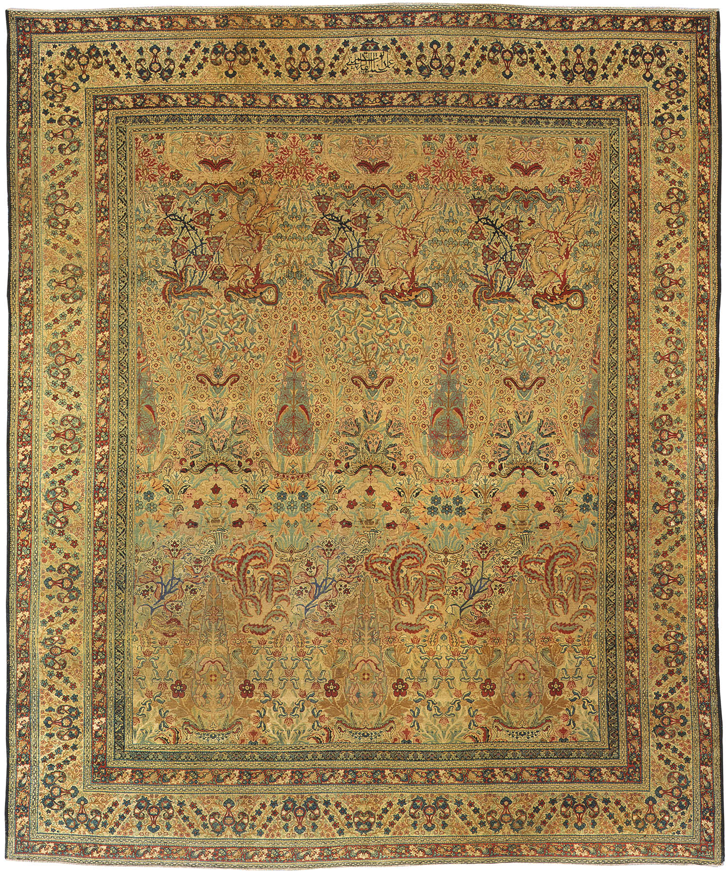 antique rugs antique kerman persian rug by kermani 3416 by nazmiyal WVHWEBO