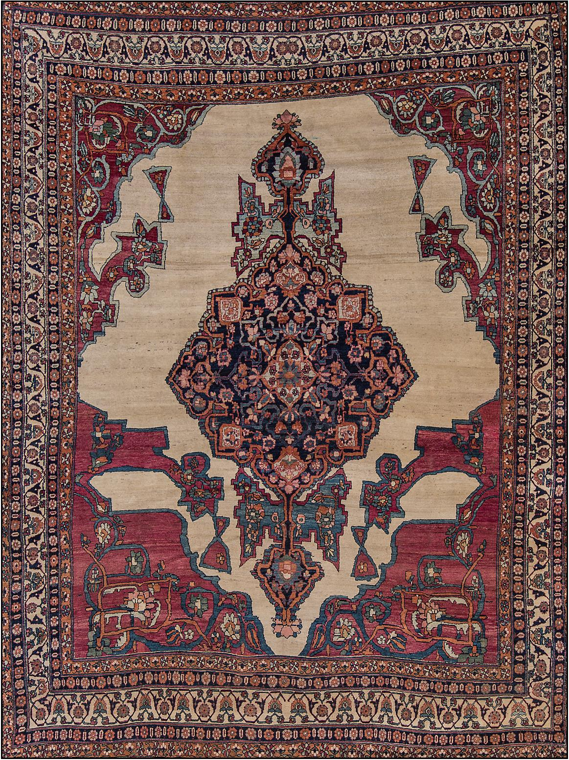 antique rugs antique kermanshah rug FZXELPK