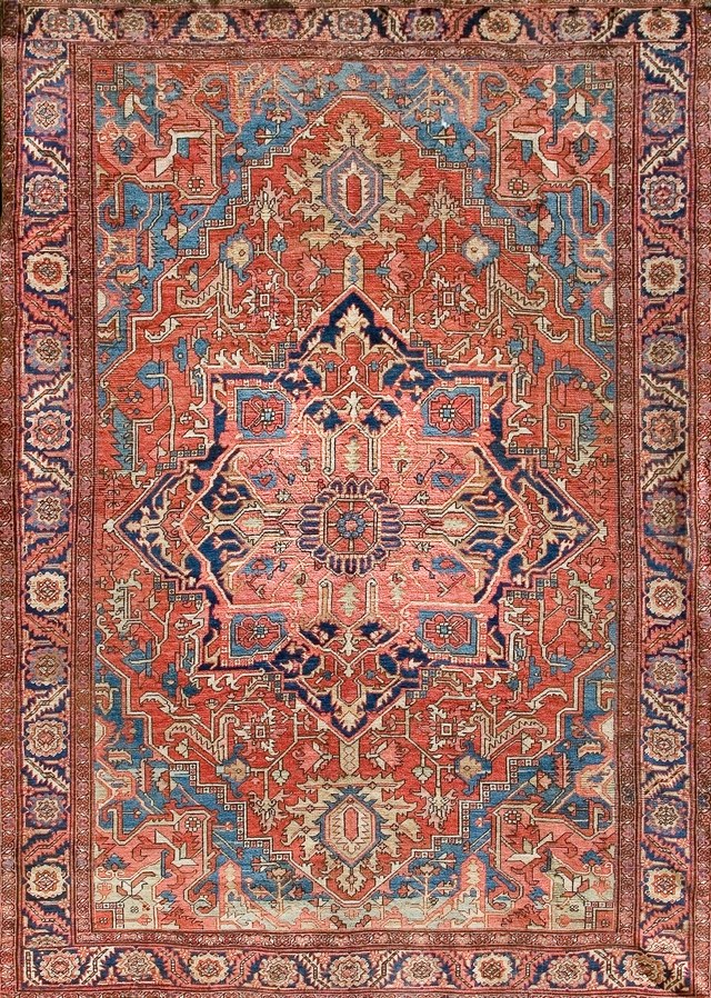 antique rugs check a rugu0027s edges first. QTSKYRA