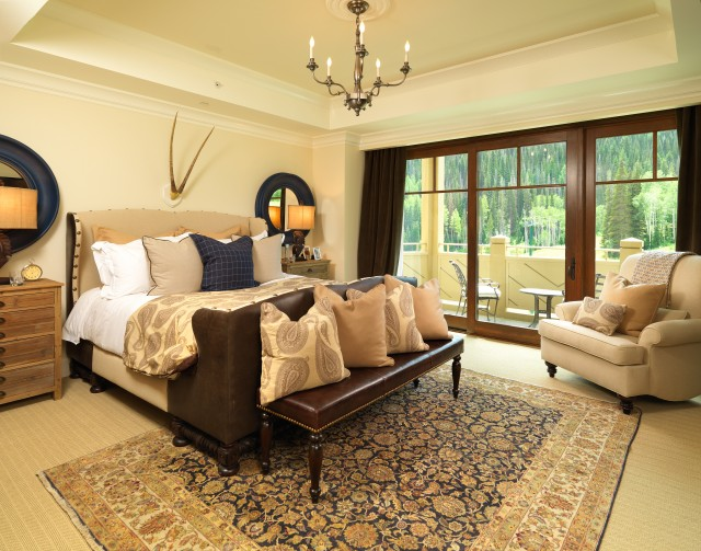 area rugs on carpet traditional bedroom traditional-bedroom RRISEAZ
