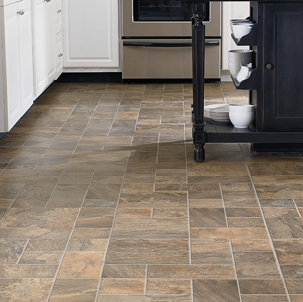 The good news about laminate tile