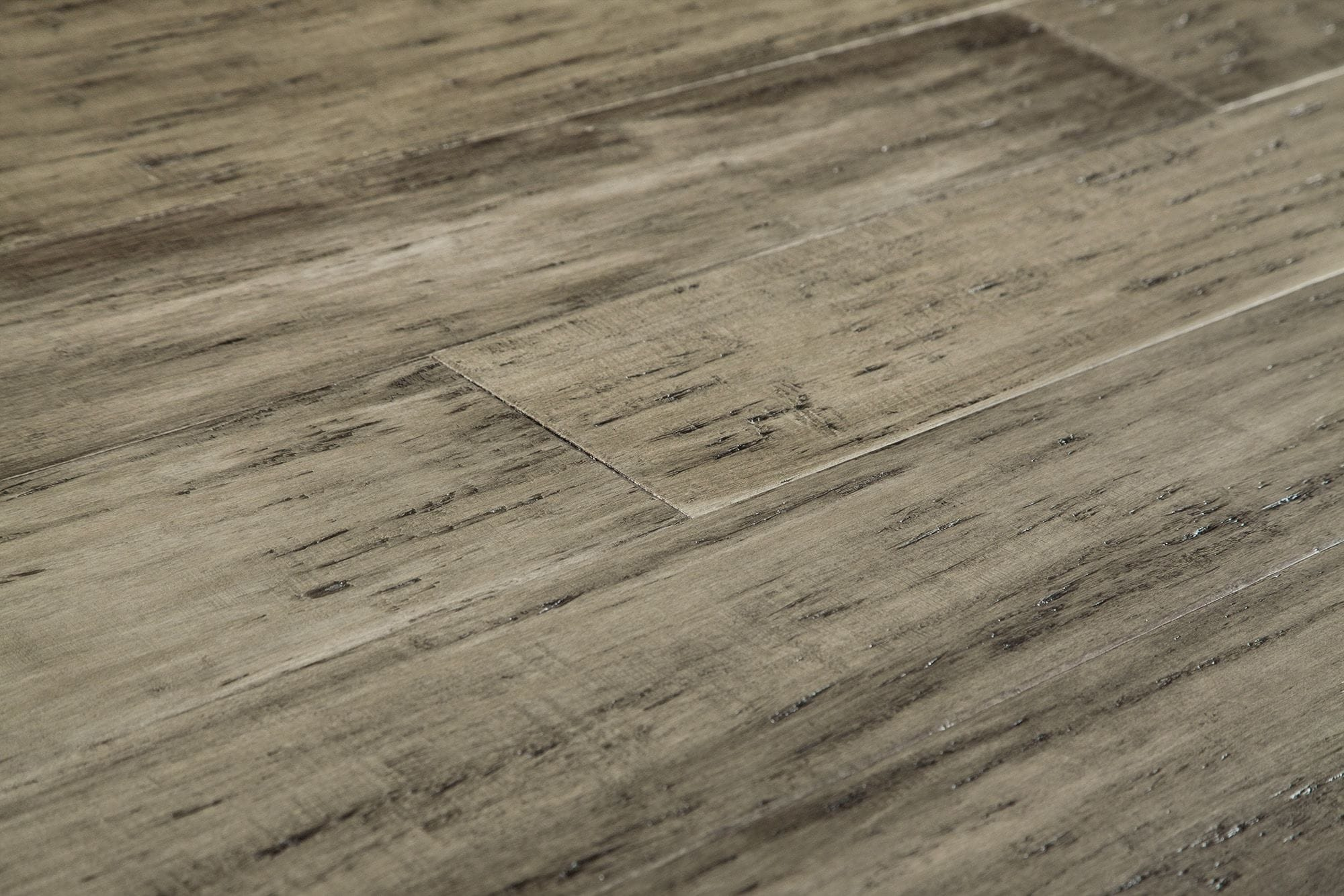 bamboo flooring free samples: yanchi 12mm distressed wide-plank click-lock solid strand  woven bamboo rustic QJYNZUI