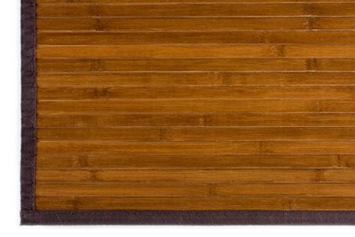 bamboo rug dark natural 4u0027 x 4u0027 JEOZZGN