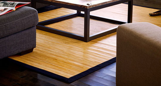 Bamboo rugs contemporary bamboo rug in natural VTVLXTH