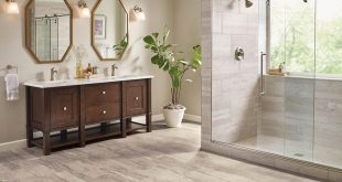 Bathroom floors bathroom flooring in vinyl sheet - b6325 duality premium collection MNMGZXF