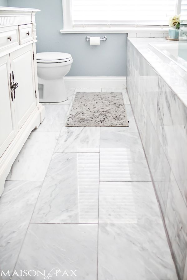 Bathroom floors i love this bathroom! gorgeous finishes and brilliant ideas for  space-efficient solutions GHKDHFZ