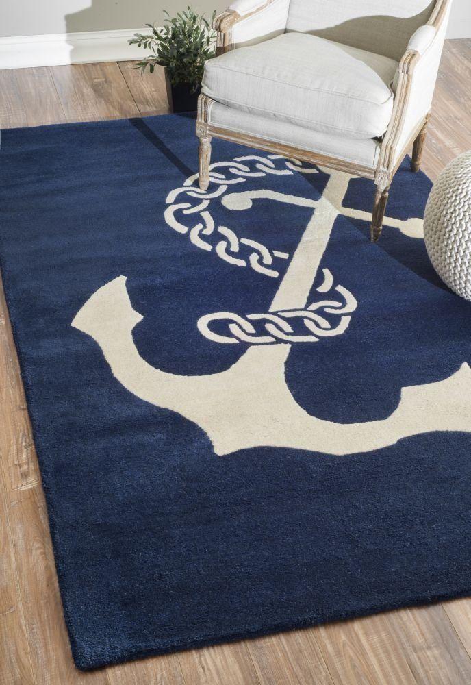 beautiful nautical rugs | nautical area rugs - beachfront decor NVPEPUK