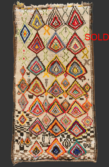 berber rugs ... tm 2100, pile rug, southern or south-eastern middle atlas, morocco, NCYZSGU