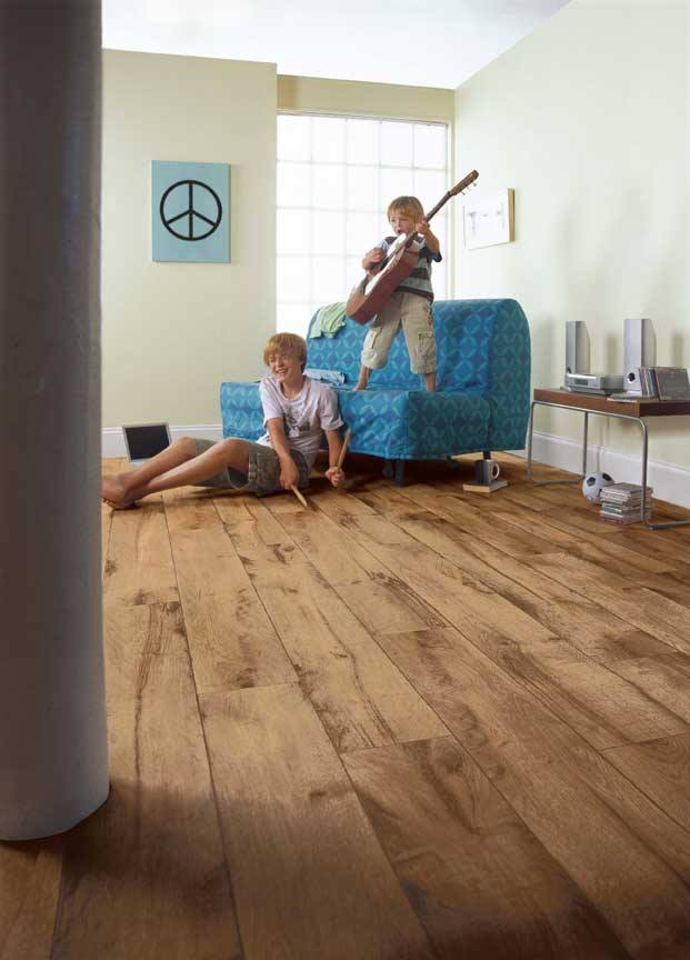 best flooring options a room with high traffic in the home such as hallways, living rooms RILYNUD