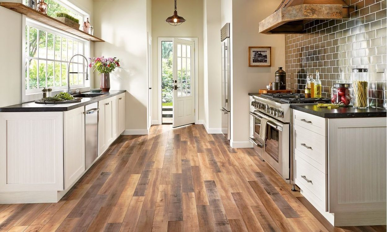 best flooring options best budget-friendly kitchen flooring options RNXSCBW