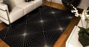 black area rugs orian rugs illusion black area rug GFIHVNW