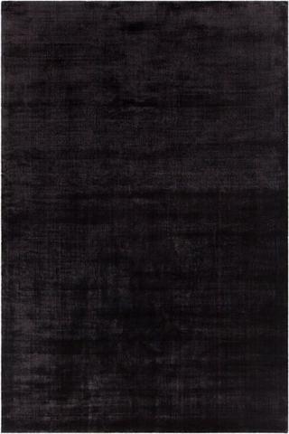 black rugs alta rug in black - yarn and loom rugs SYHIEDL
