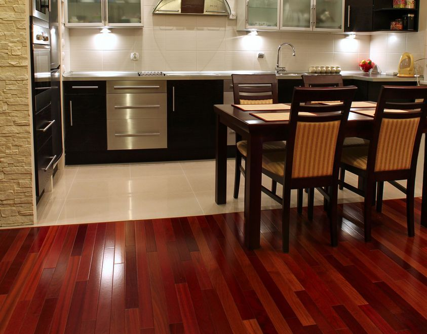 brazilian cherry wood floor kitchen dark brazilian cherry hardwood floors kitchen MYALGKF