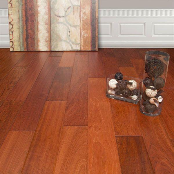 Brazilian cherry wood flooring 5quot engineered hand scraped natural brazilian cherry wood brazilian cherry  hardwood flooring QRAOUPX