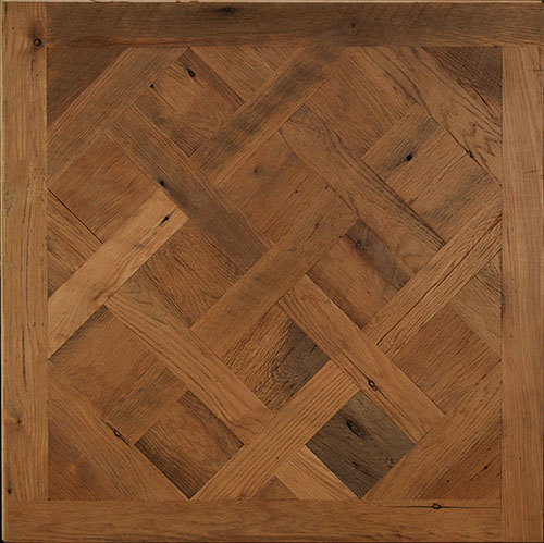 Contemporary parquet wood flooring