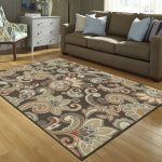 Interior dÉcor with brown area rugs
