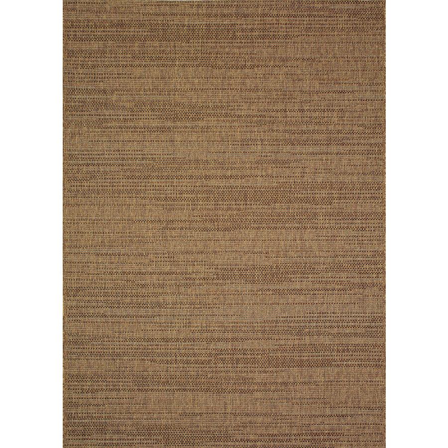 brown rug allen + roth bestla brown indoor/outdoor distressed area rug (common: 8 x LQRDVSV