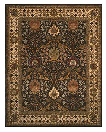 brown rug eorc ot31bn brown hand tufted wool morris rug, ... PVXZDHJ