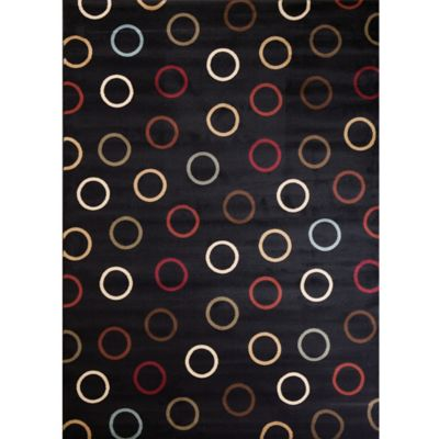 buy black area rugs from bed bath u0026 beyond MXHOJGB