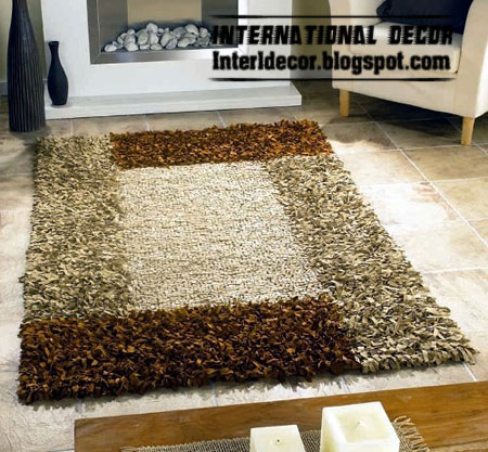 carpet design modern modern turkish fur carpet, rug model 2013 YCOYUHW