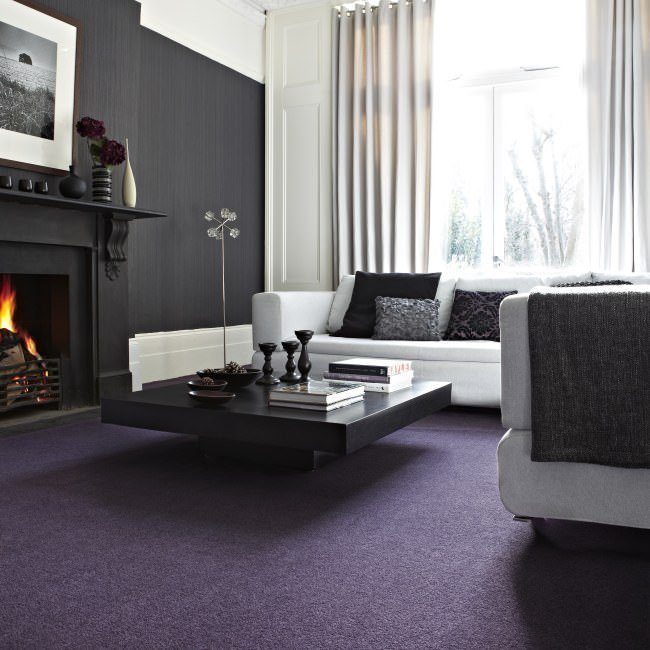 carpet ideas a deep plum or rust-coloured carpet can be off-set by a rich palette HHZOUID
