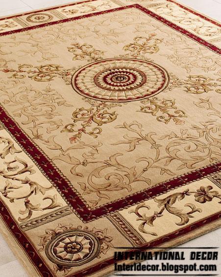 carpet models luxury classic beige carpet, classic rug model TKUNGAR