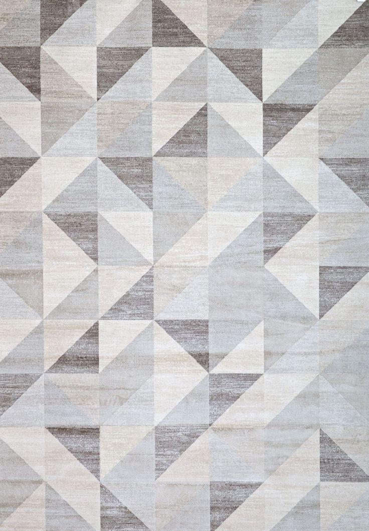 carpet modern pattern abacasa sonoma colburn gray u0026 white area rug | allmodern ZUXRTZR