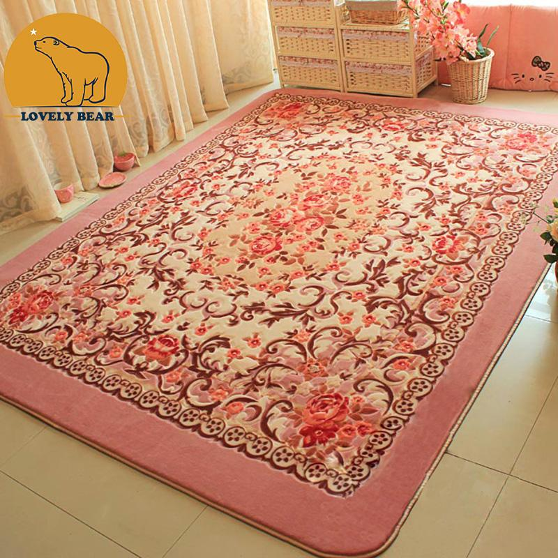 Carpet rug 100% polyester 2016 top quality stylish cutting floral rug carpet DZVNIJK