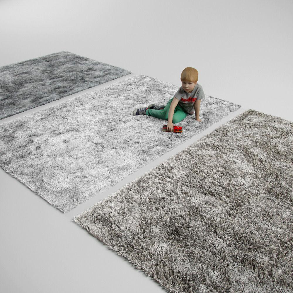 Carpet rug fluffy rug carpet 3d model max obj fbx mtl 1 ... SAPPDOZ