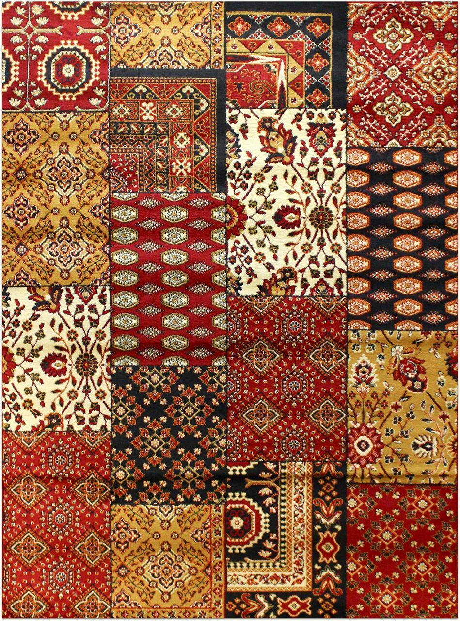 Carpet rug picture of southwestern carpet patchwork style rug JBMDTQN