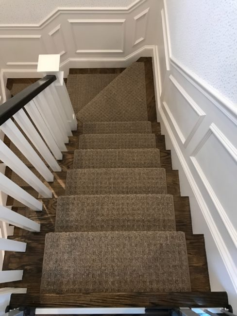 Carpet stairs prestige mills, cliffside, indigo ZXVEKTA