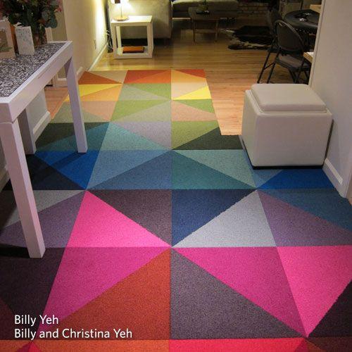 carpet tile patterns flor - modular rugs - can make any pattern - rug tiles - KWIUGDS