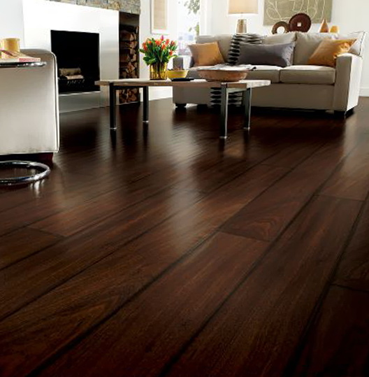 Charming Dark Laminate Wood Flooring With Chocolate ARPRESD