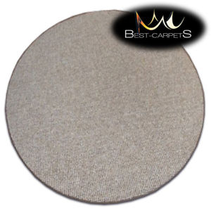 Cheap and quality carpets image is loading cheap-amp-quality-carpets-round-feltback-rhapsody-brown- ZFVZHMY