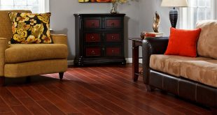 Cherry laminate flooring 10mm+pad boa