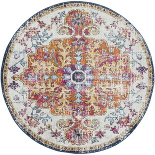 Circle rugs hillsby saffron area rug DSRCLTC