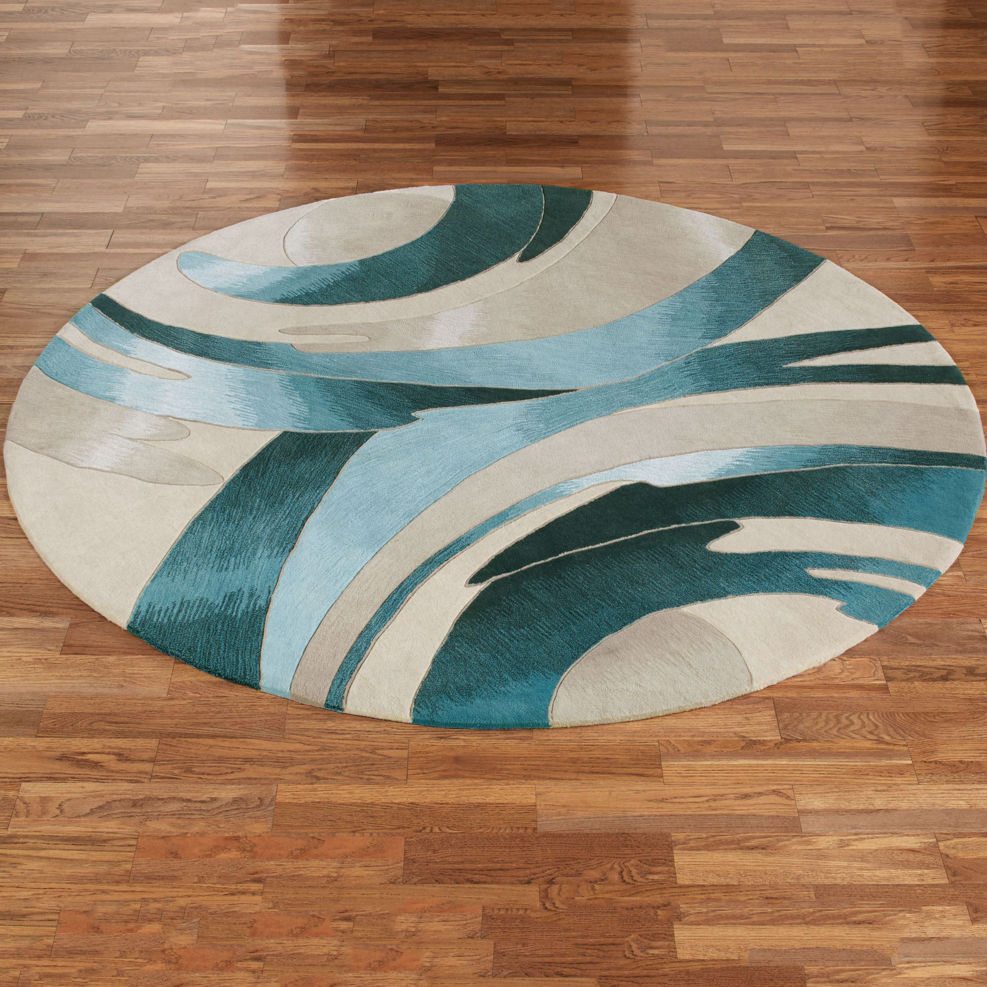 Circle rugs are the best choice