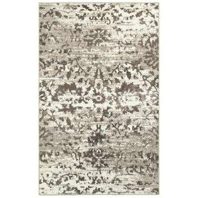 classic white rugs adana white/light beige 2 ft. x 3 ft. vibrant indoor area rug GAQYGNI