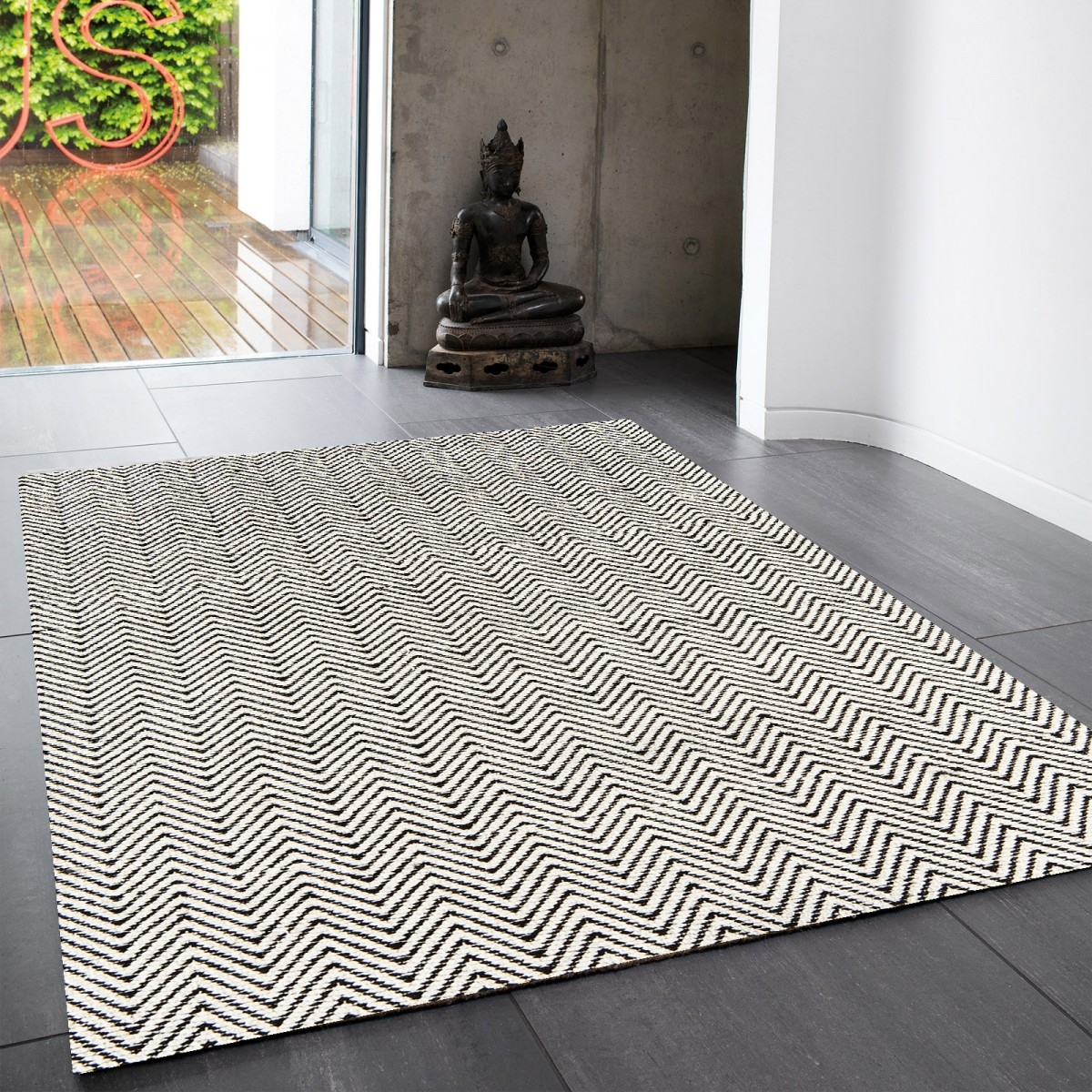 """crisp and classic white rugs that will never go out of style"""