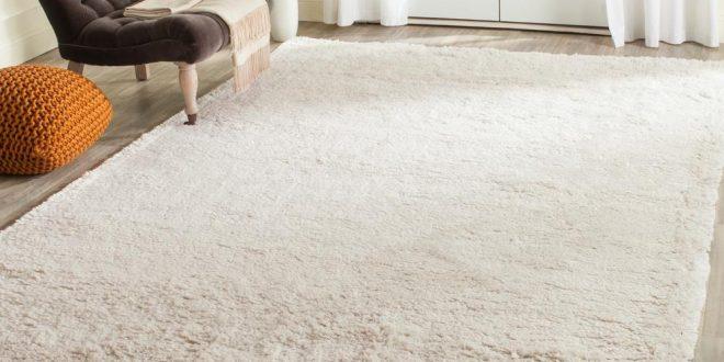 classic white rugs safavieh classic shag ultra white 4 ft. x 6 ft. WVUFGRU