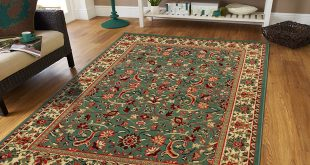 Clearance rugs amazon.com: large area rug oriental carpet 8x11 living room rugs 8x10 green EMDKENW