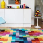 Purchasing colourful area rug